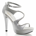 5'' Heel Curvy Closed Back Sandal
