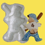 BOY WITH BAT MINI MOLD
