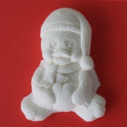 CHRISTMAS PENGUIN SILICONE MOLD