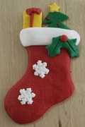 CHRISTMAS STOCKING MOLD