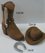COWBOY BOOT SET - MEN