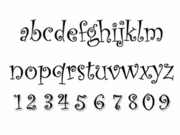 CURLZ LOWER CASE ALPHABET MAT