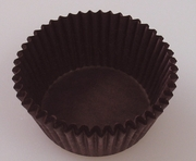 DARK BROWN MIDI BAKING CUP