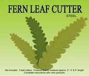 "FERN LEAVES GUMPASTE CUTTER SET <FONT COLOR = ""RED""> OUT OF STOCK </FONT>"