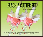 "FUSCHIA GUMPASTE CUTTER SET <font color= ""red""> NEW ITEM </FONT>"