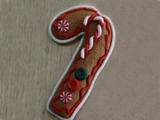 GINGER BREAD CANE  MOLD