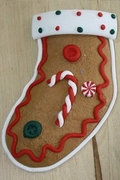GINGER BREAD SOCK MOLD