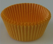 GOLDEN YELLOW MINI CUPCAKE LINER