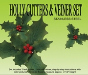 HOLLY GUMPASTE CUTTER
