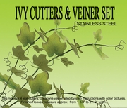 IVY LEAF GUMPASTE CUTTER SET