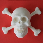 JOLLY ROGER SKULL SILICONE MOLD