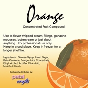ORANGE FLAVORING COMPOUND