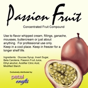 PASSION FRUIT FLAVOR COMPOUND
