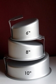 ROUND TOPSY TURVY CAKE PAN (SET OF 3)