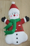 SNOWMAN WITH RED SWEATER