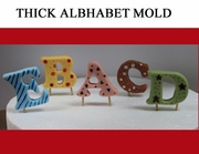 THICK ALPHABET MOLD