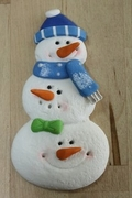 THREE SNOWMAN MOLD