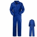 CEB2RB EXCEL- FR� Royal Blue Deluxe Coverall