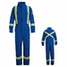 CLBTRB Royal Blue Deluxe Coverall with Reflective Trim
