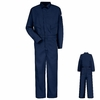 CMD4NV Bulwark Navy Deluxe - CoolTouch® II Coverall