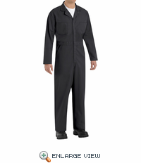 CT10BK Twill Action Back Coverall by REDKAP