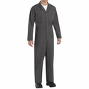 CT10CH Charcoal Twill Action Back Coverall by REDKAP