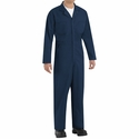 CT10NV Navy Twill Action Back Coverall by REDKAP