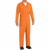 CT10OR Twill  Action Back Coveralls by REDKAP