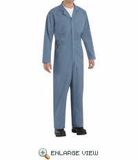 CT10PB Twill Action Back Coverall by REDKAP