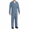 CT10PB Postman Blue Twill Action Back Coverall by REDKAP