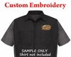 Custom Embroidery - Re-Order Logo on File