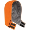 HLH2OR EXCEL- FR™ COMFORTOUCH™ Orange Snap On Insulated Hood