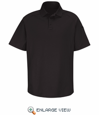 HS5124 Black Short Sleeve Special OPS Polo