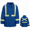 JNPTRB Deluxe Royal Blue Parka with Reflective Trim HRC4