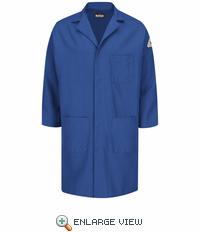 KNL6 Nomex® IIIA Flame-resistant Concealed Snap Front Lab Coat