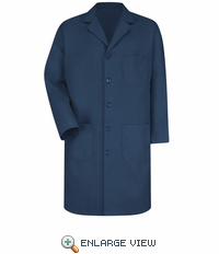 KP14NV Men's Navy Red Kap Lab Coat