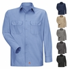 Men's Solid Ripstop Work Shirt - Long Sleeve