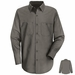 SC10GG Long Sleeve Graphite Gray 100% Cotton Shirt