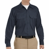 SC70DN Long Sleeve Dark Navy Heavyweight Cotton Twill Workshirt