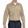 SC70KH Long Sleeve Khaki Heavyweight Cotton Twill Workshirt