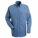 SEG2 Excel-FR� 7oz.  Button Front Denim Uniform Shirt