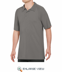 SK92GY Male Active Performance Grey Polo