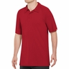 SK92RD Male Active Performance Red Polo