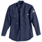 SND5NVB Women's Navy NOMEX® IIIA 6oz. Button Front Deluxe Shirt