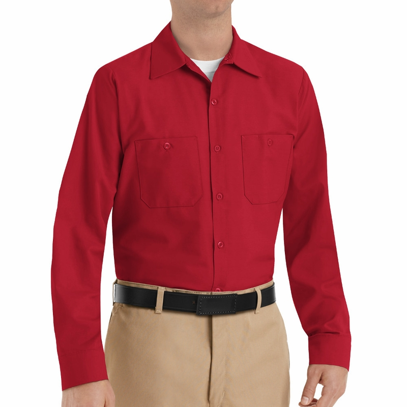 Red Long Sleeve Shirt Mens | Gommap Blog
