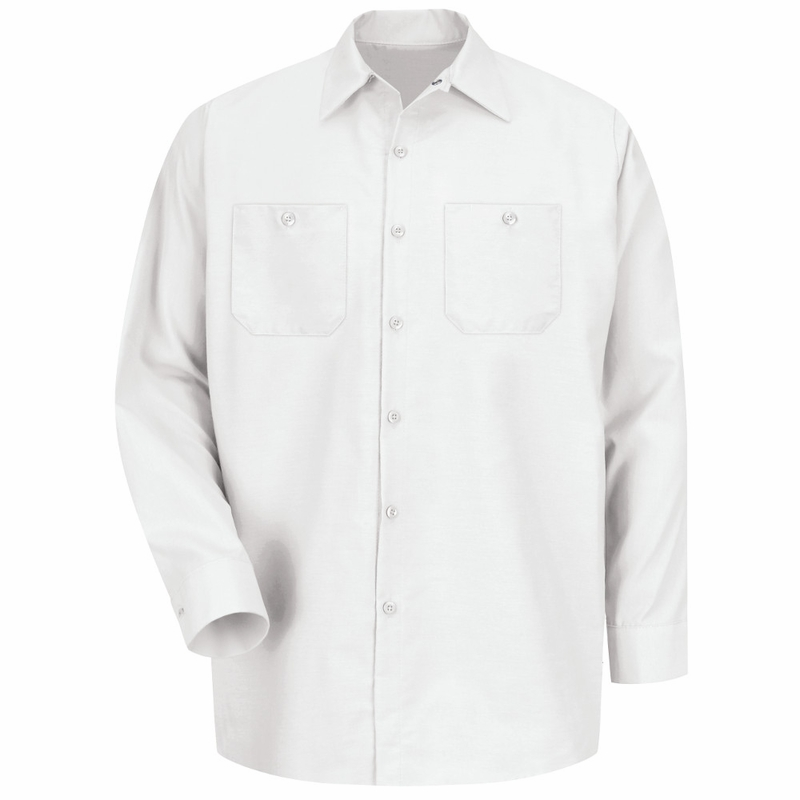 White Long Sleeve Shirt Mens