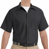 SP24 Men's Short Sleeve Industrial Work Shirt (20 Colors)