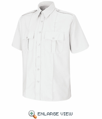 SP46WH Short Sleeve White Sentinel® Upgraded Security Shirt