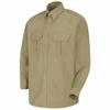 SP56KH Long Sleeve Khaki Sentinel® Basic Security Shirt