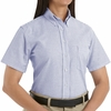 SR61  Short Sleeve Women's Executive Button-Down Shirt  (4-Colors)